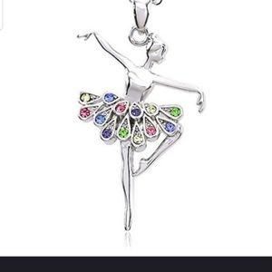 Super Adorable ballerina necklace